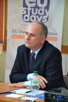 Депутат Європарламенту Павел Залевські на EU Study Days